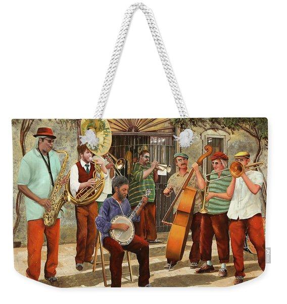 Un Po' Di Jazz Weekender Tote Bag