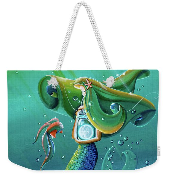 Uncharted Waters Weekender Tote Bag