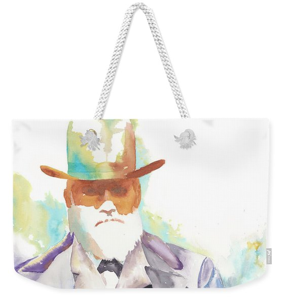 Uncle David Nation, Circa 1900 Weekender Tote Bag