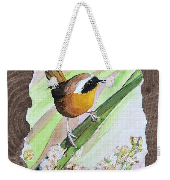 Uncommon Yellowthroat Weekender Tote Bag