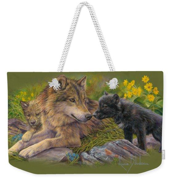 Unconditional Love Weekender Tote Bag