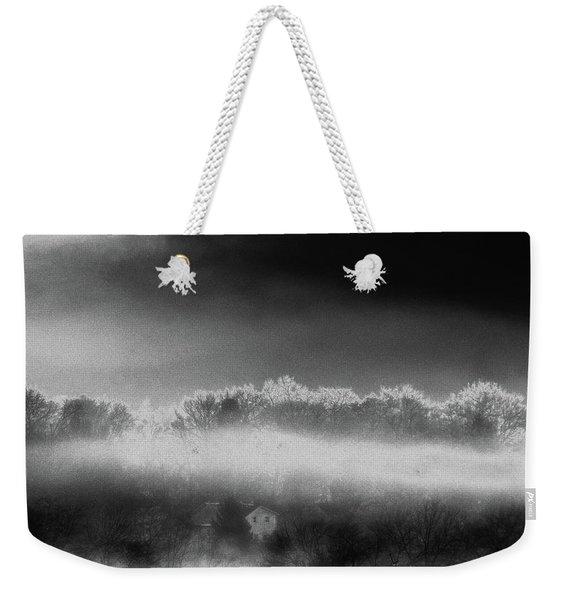 Under A Cloud Weekender Tote Bag