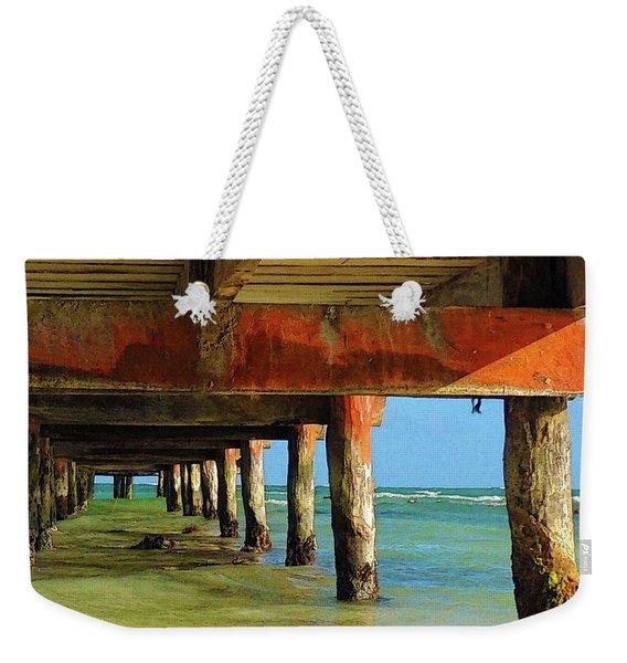 Under Dock Weekender Tote Bag