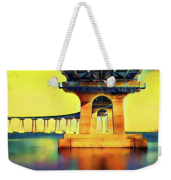 Under The Coronado Bridge Weekender Tote Bag