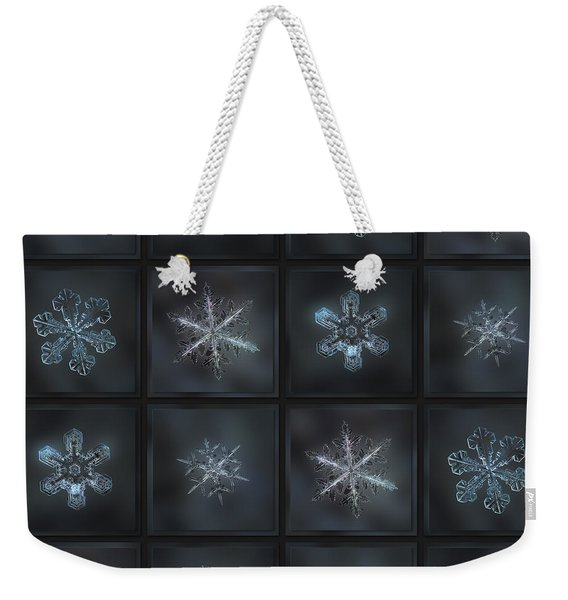 Under The Grey Sky II Weekender Tote Bag