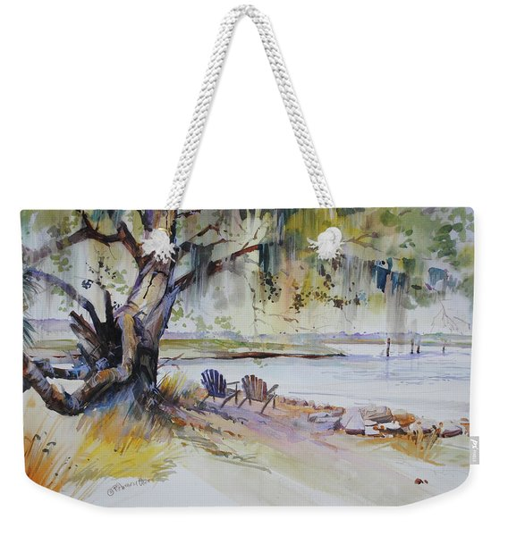 Under The Live Oak Weekender Tote Bag