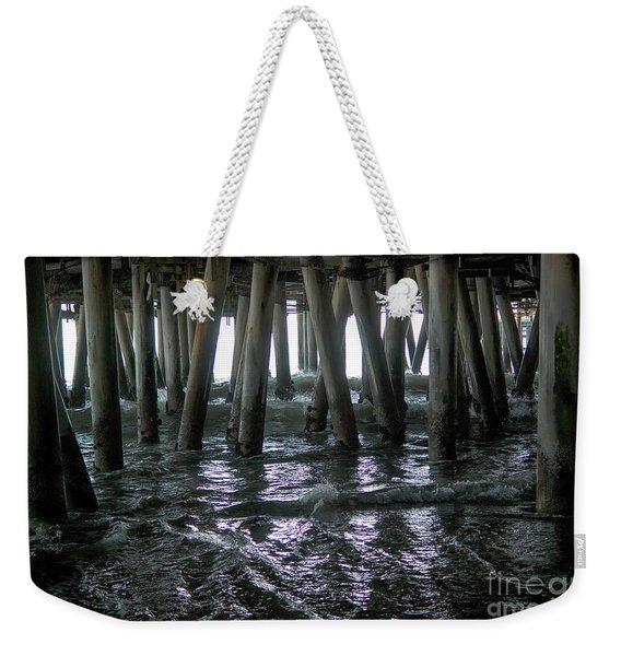 Under The Pier 4 Weekender Tote Bag