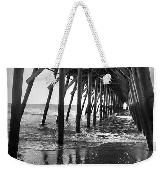 Under The Pier At Myrtle Beach Weekender Tote Bag