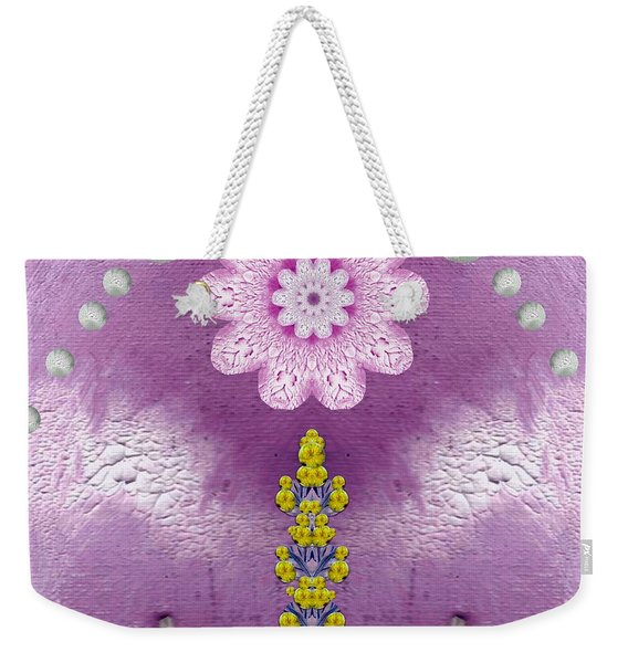 Under The Rainbow Is A Temple Weekender Tote Bag
