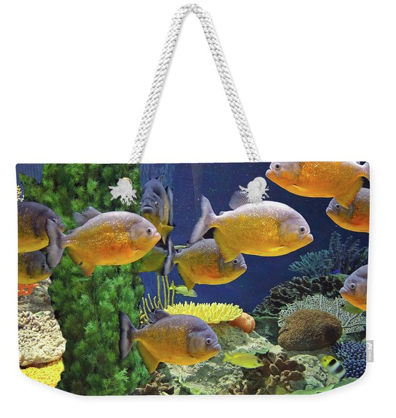 Under The Seen World 5 Weekender Tote Bag