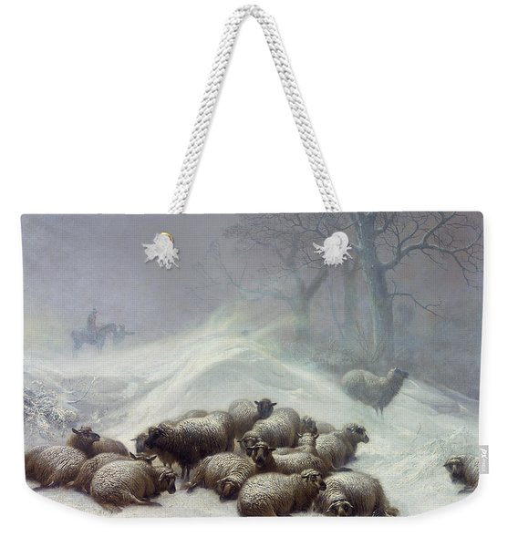 Under The Shelter Of The Shapeless Drift Weekender Tote Bag
