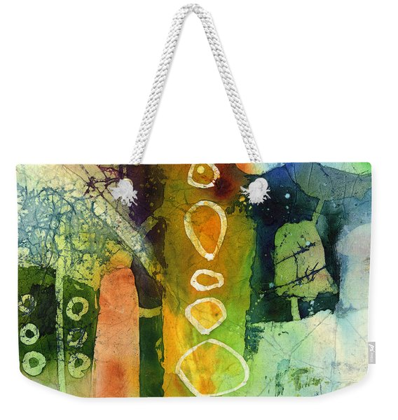 Under The Surface - Green Weekender Tote Bag