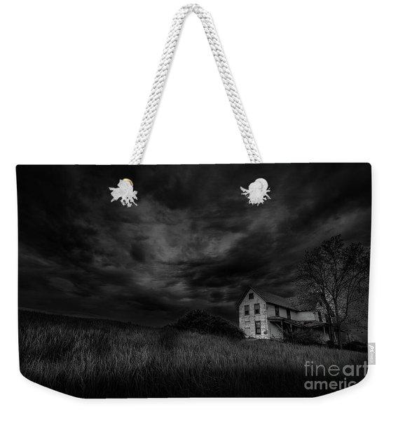 Under Threatening Skies Weekender Tote Bag