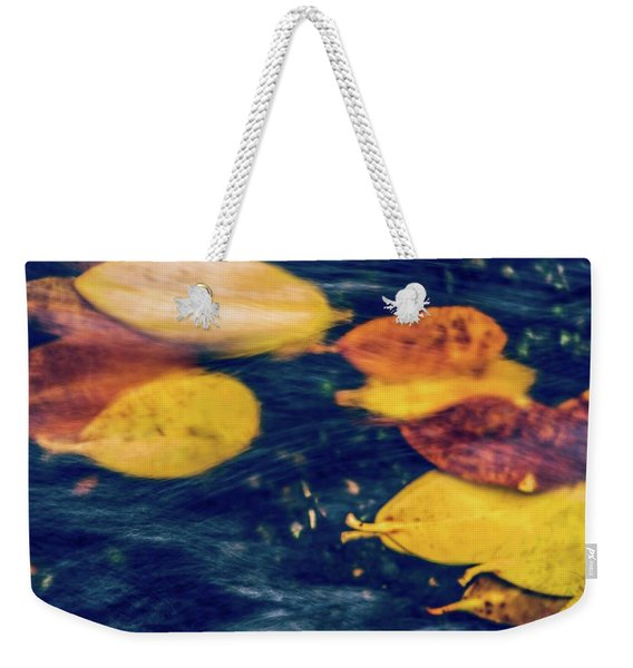 Underwater Colors Weekender Tote Bag