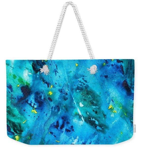 Underwater Forest Weekender Tote Bag
