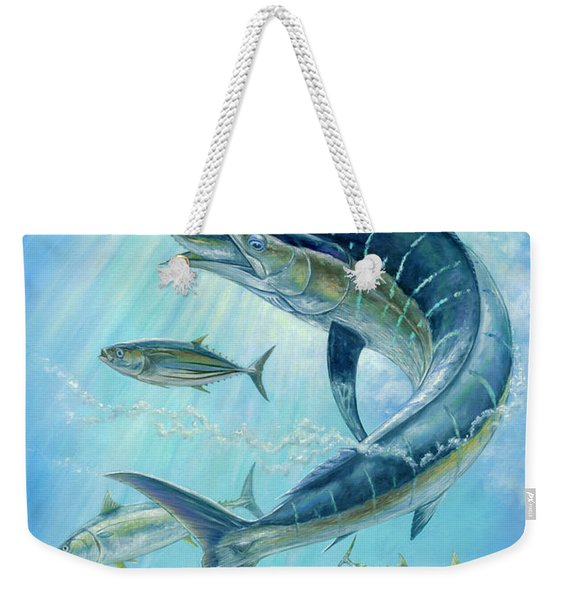 Underwater Hunting Weekender Tote Bag