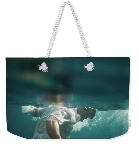 Underwater Man Weekender Tote Bag