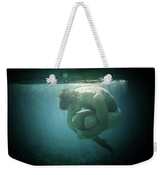 Underwater Rock Weekender Tote Bag