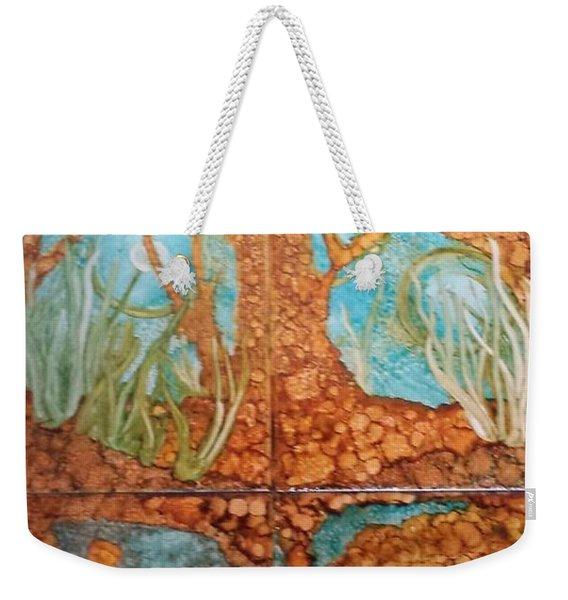 Underwater Trees Weekender Tote Bag