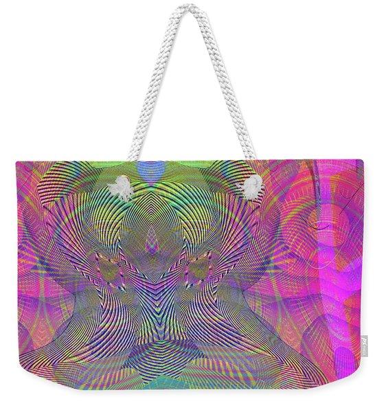 Weekender Tote Bag featuring the digital art Underwater World IIi by Visual Artist Frank Bonilla