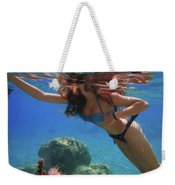 Underwater #1 Weekender Tote Bag