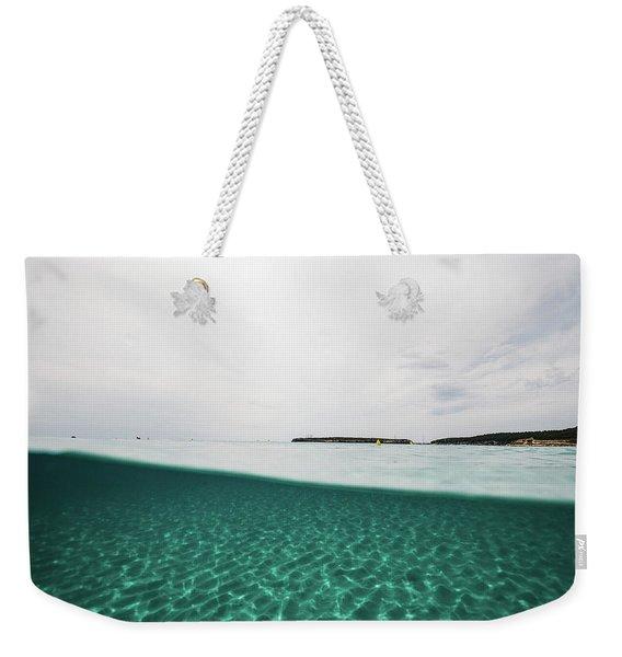 Underwaterline Weekender Tote Bag