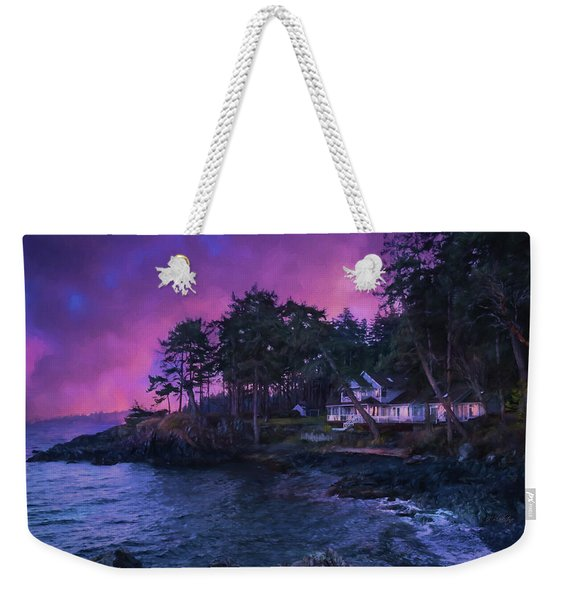 Undreamed Shores - Chesapeake Art Weekender Tote Bag