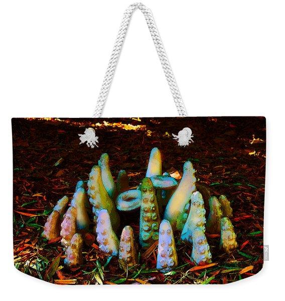 Unexpected Tenacles Weekender Tote Bag