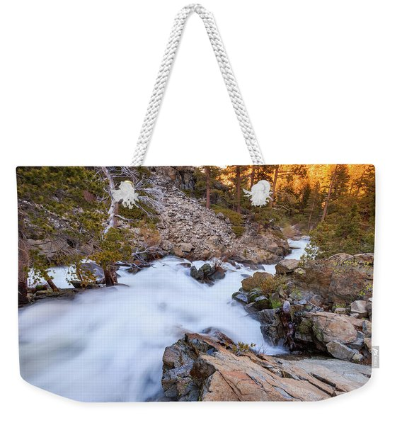 Unfamiliar Beauty Of Upper Eagle Falls Weekender Tote Bag