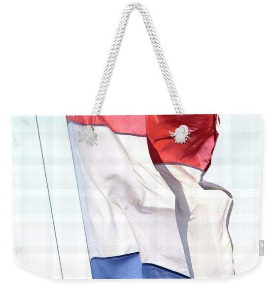 Unfurl 02 Weekender Tote Bag
