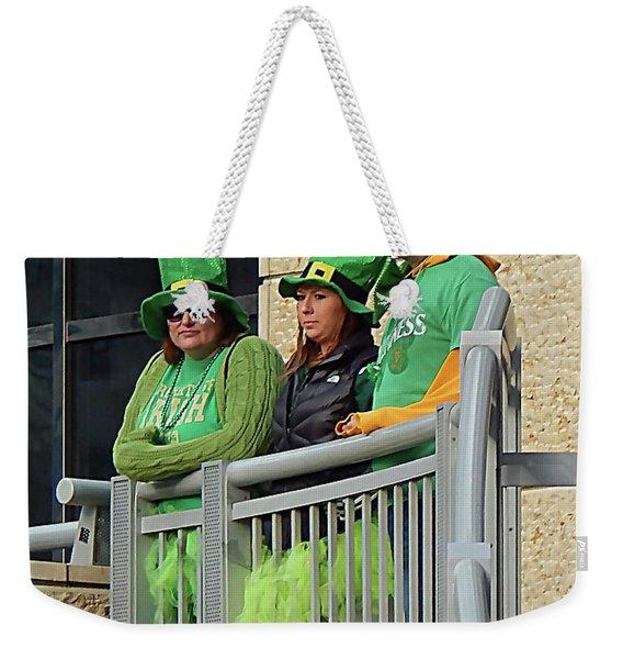 Unhappy Leprechauns Weekender Tote Bag