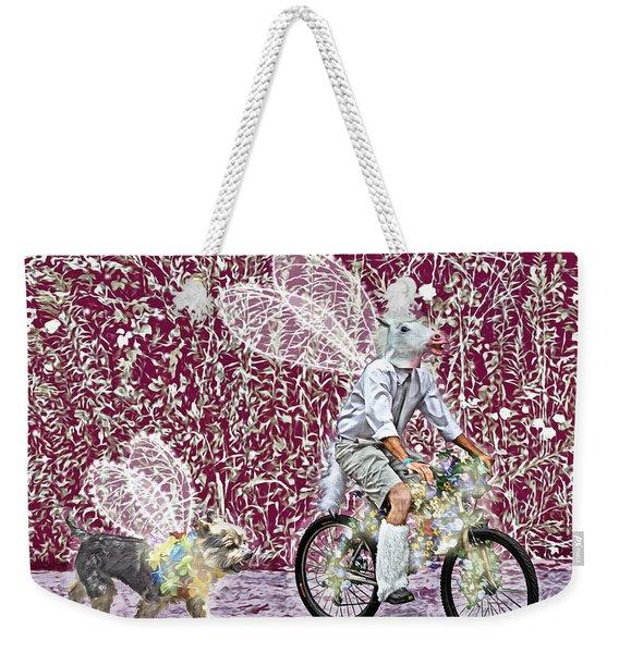 Unicorn And Doggie Fairies Weekender Tote Bag