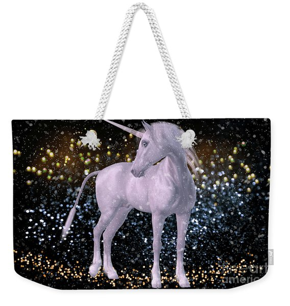 Unicorn Dust Weekender Tote Bag