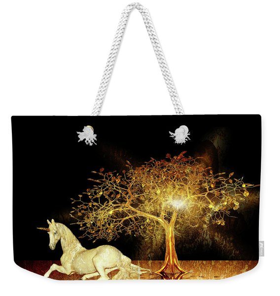 Unicorn Resting Series 1 Weekender Tote Bag
