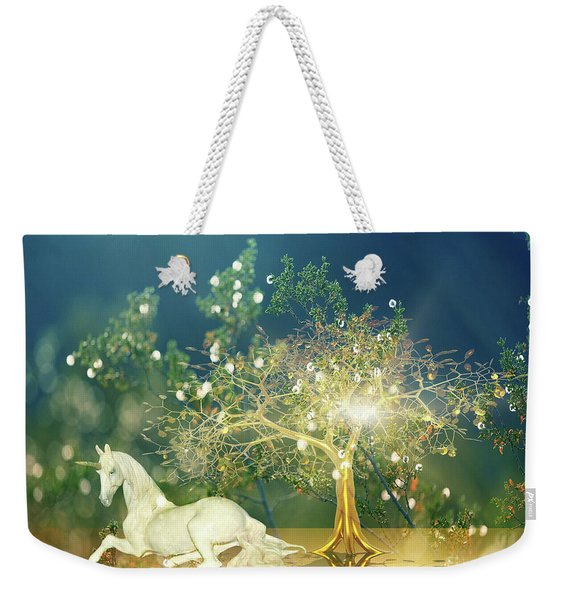Unicorn Resting Series 2 Weekender Tote Bag