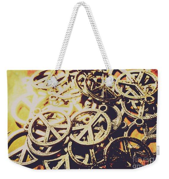 Unified Peace Weekender Tote Bag