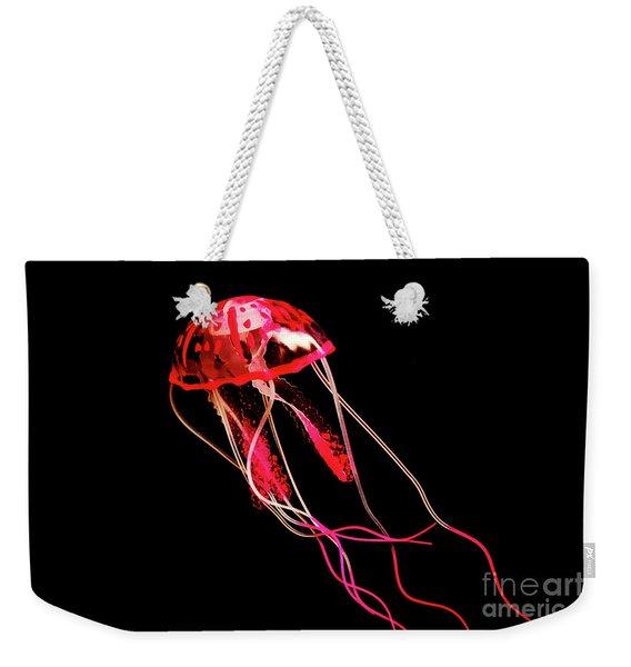 Uninhibited Darkness Weekender Tote Bag