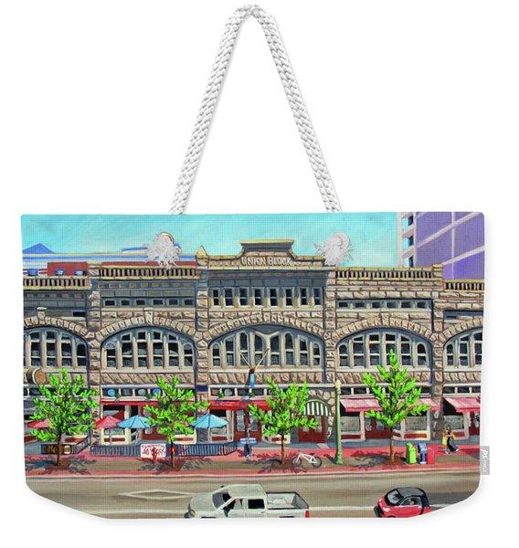Union Block Building - Boise Weekender Tote Bag