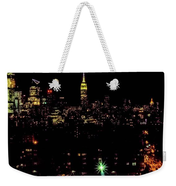 Union City Nj Traffic Weekender Tote Bag