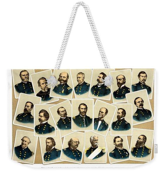 Union Commanders Of The Civil War Weekender Tote Bag