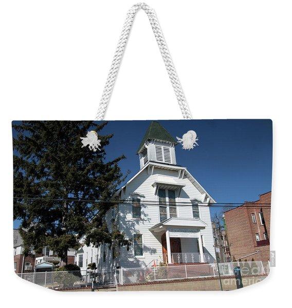 Union Evangelical Church Of Corona Weekender Tote Bag