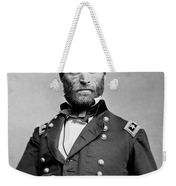 Union General William Tecumseh Sherman 1865 Weekender Tote Bag