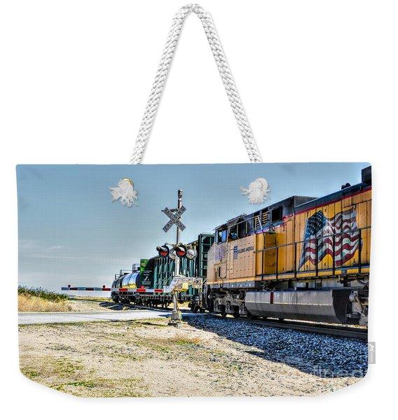 Union Pacific Weekender Tote Bag