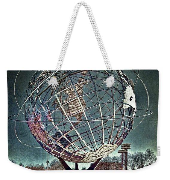 Unisphere Weekender Tote Bag