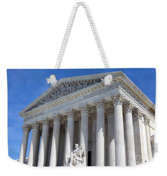 United States Supreme Court Building Weekender Tote Bag