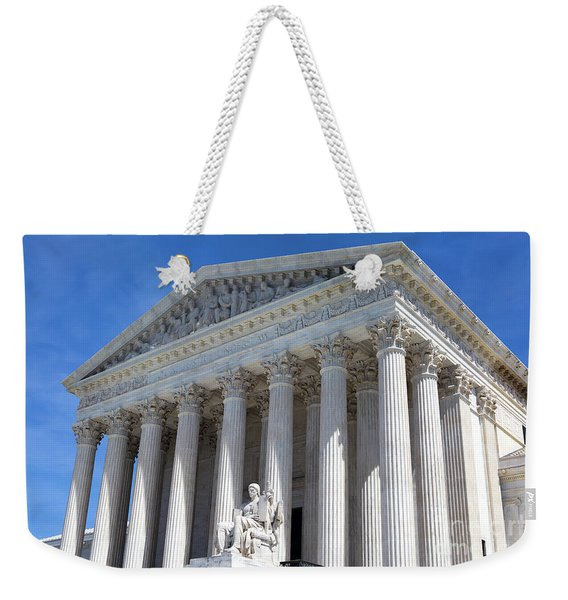 United States Supreme Court Building Weekender Tote Bag