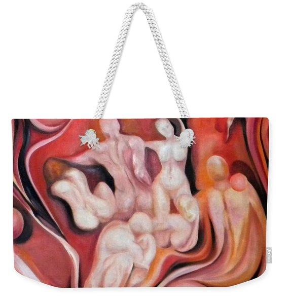 Universal Energies Weekender Tote Bag
