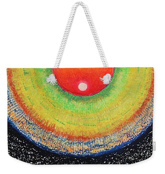 Universal Eye In Red Weekender Tote Bag