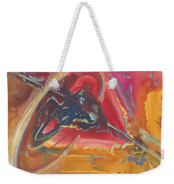 Universal Heart Weekender Tote Bag