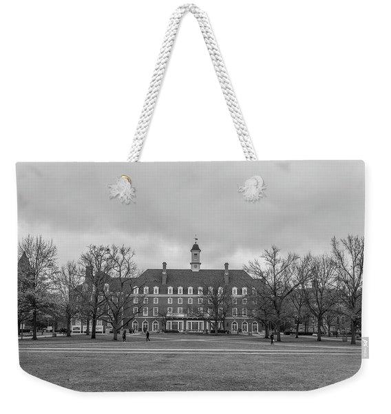 university of Illinois Quad Weekender Tote Bag